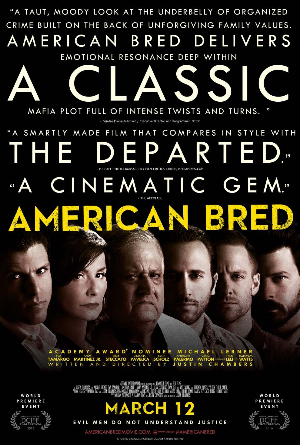 American Bred WORLD PREMIERE POSTER SMALL